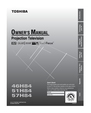 Toshiba 46H84 Owner Manual