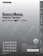 Toshiba 57HX83 Owner Manual