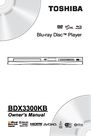Toshiba BDX3300 Owner Manual