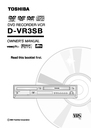 Toshiba D-VR3SB Owner Manual