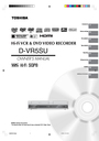 Toshiba D-VR5SU Owner Manual