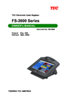 Toshiba FS-3600 Owner Manual