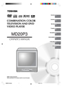 Toshiba MD20P3 Owner Manual
