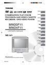 Toshiba MW24F11 Owner Manual