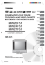 Toshiba MW20F51 Owner Manual