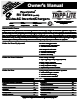 Tripp Lite RV Series Manual