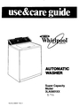 Whirlpool 3LA5801XX Manual