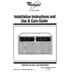 Whirlpool ACU072XE Installation Instructions