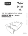 Whirlpool W10205335A SP Installation Instructions
