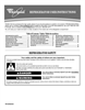 Whirlpool W10226405A Installation Instructions