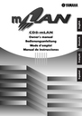 Yamaha CD8-mLAN Owner Manual