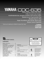 Yamaha CDC-635 Manual