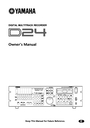 Yamaha D24 Owner Manual