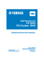 Yamaha F1W-F8199-10 Manual