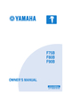 Yamaha F75B Manual