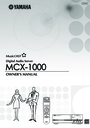 Yamaha mcx-1000 Manual