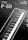 Yamaha P-80 Manual