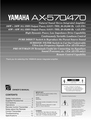 Yamaha 374 Manual