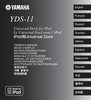 Yamaha YDS-11 Owner Manual