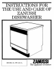 Zanussi DW401/A Manual